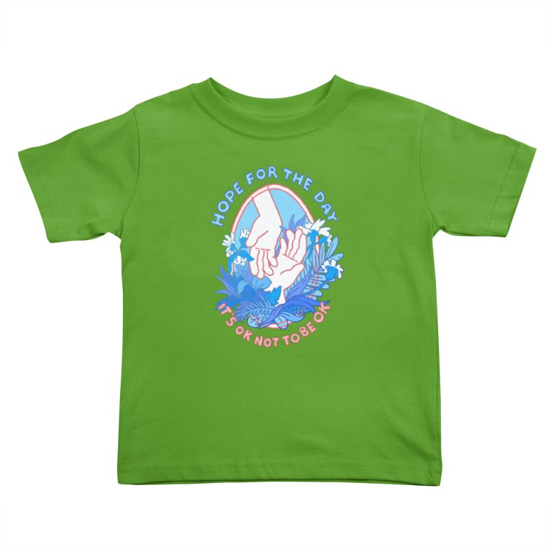 Andrea Bell - Artist Series Kids Toddler T-Shirt by Hope for the Day Shop