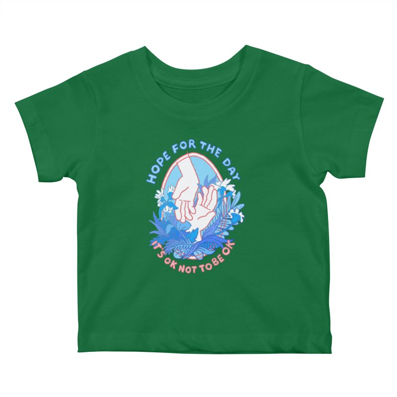 Andrea Bell - Artist Series Kids Baby T-Shirt by Hope for the Day Shop