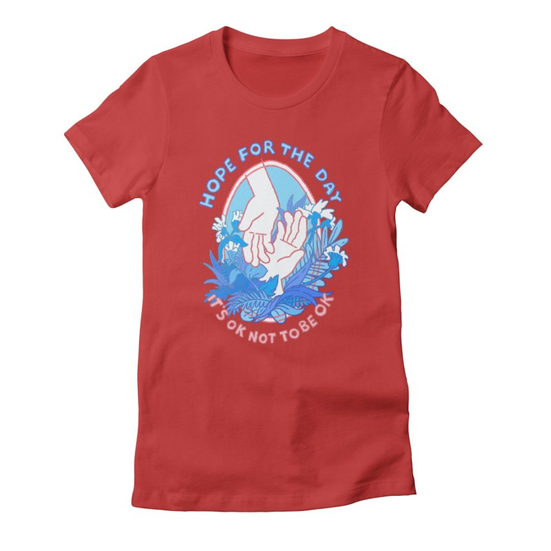 Andrea Bell - Artist Series Women's T-Shirt by Hope for the Day Shop