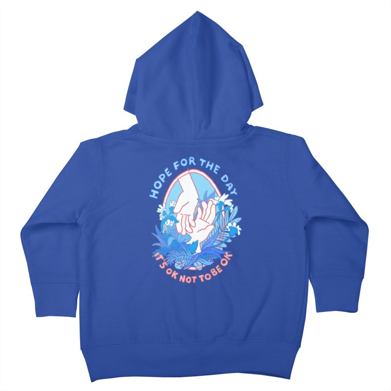 Andrea Bell - Artist Series Kids Toddler Zip-Up Hoody by Hope for the Day Shop