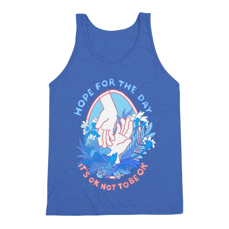 Andrea Bell - Artist Series Men's Triblend Tank by Hope for the Day Shop