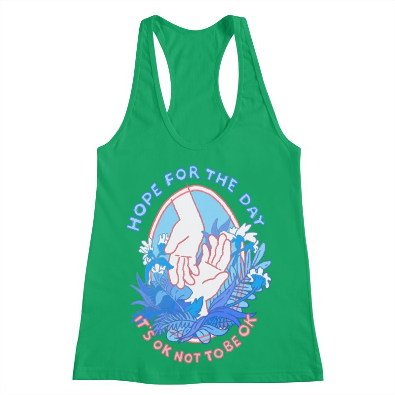 Andrea Bell - Artist Series Women's Racerback Tank by Hope for the Day Shop