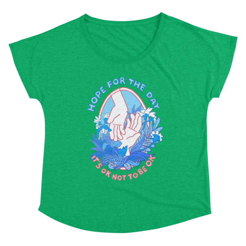 Andrea Bell - Artist Series Women's Scoop Neck by Hope for the Day Shop