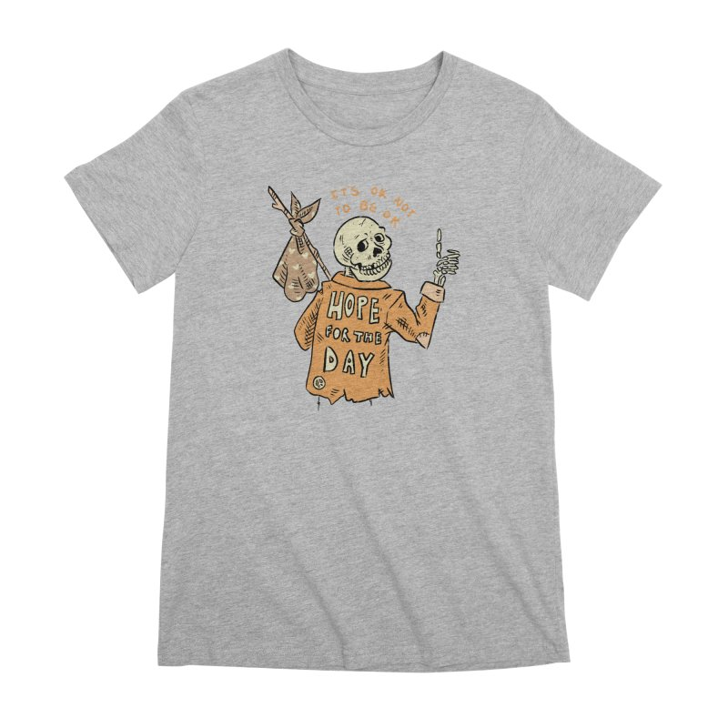 Karen Mooney - Down But Not Out Women's Premium T-Shirt by Hope for the Day Shop