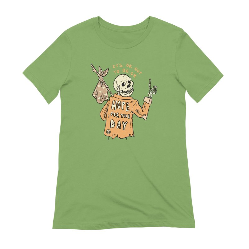 Karen Mooney - Down But Not Out Women's Extra Soft T-Shirt by Hope for the Day Shop