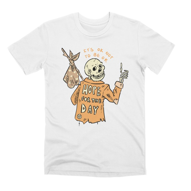 Karen Mooney - Down But Not Out Men's Premium T-Shirt by Hope for the Day Shop