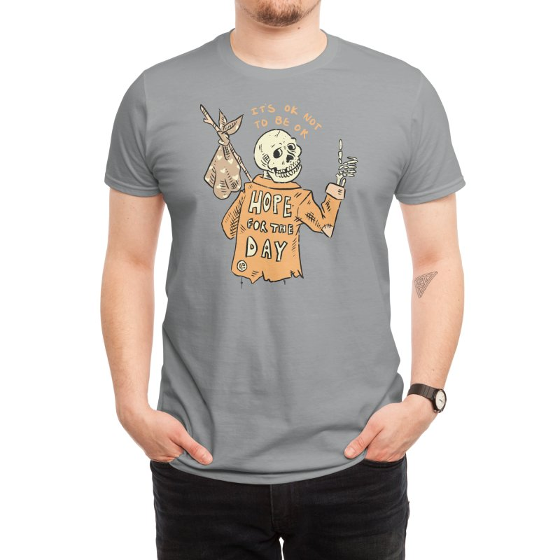 Karen Mooney - Down But Not Out Men's T-Shirt by Hope for the Day Shop