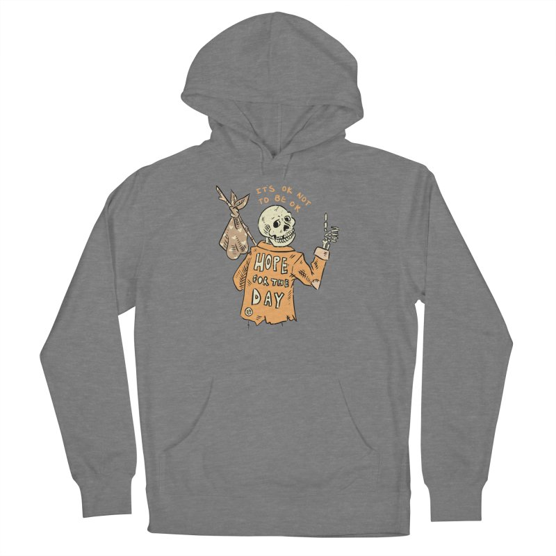 Karen Mooney - Down But Not Out Women's Pullover Hoody by Hope for the Day Shop
