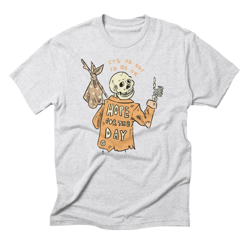 Karen Mooney - Down But Not Out Men's Triblend T-Shirt by Hope for the Day Shop