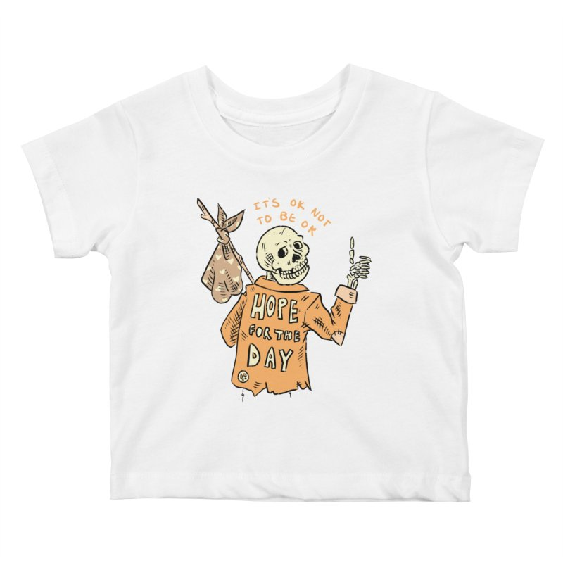 Karen Mooney - Down But Not Out Kids Baby T-Shirt by Hope for the Day Shop