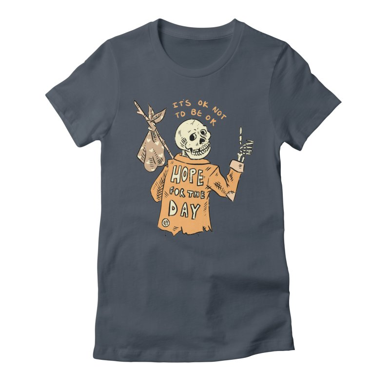 Karen Mooney - Down But Not Out Women's T-Shirt by Hope for the Day Shop