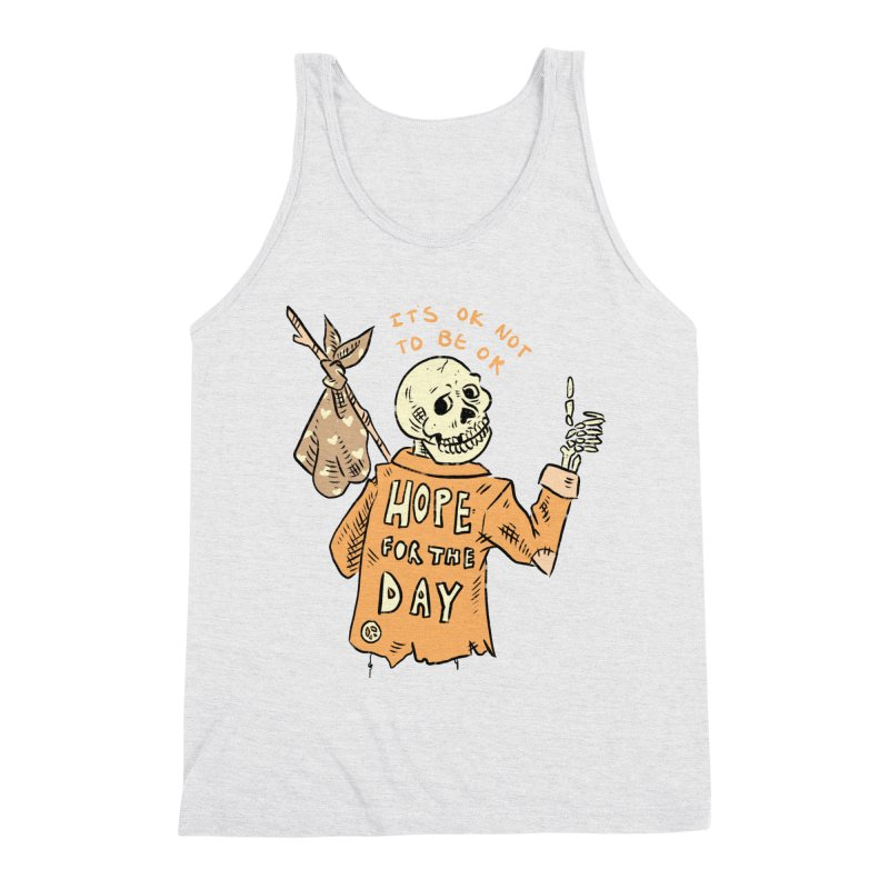 Karen Mooney - Down But Not Out Men's Tank by Hope for the Day Shop