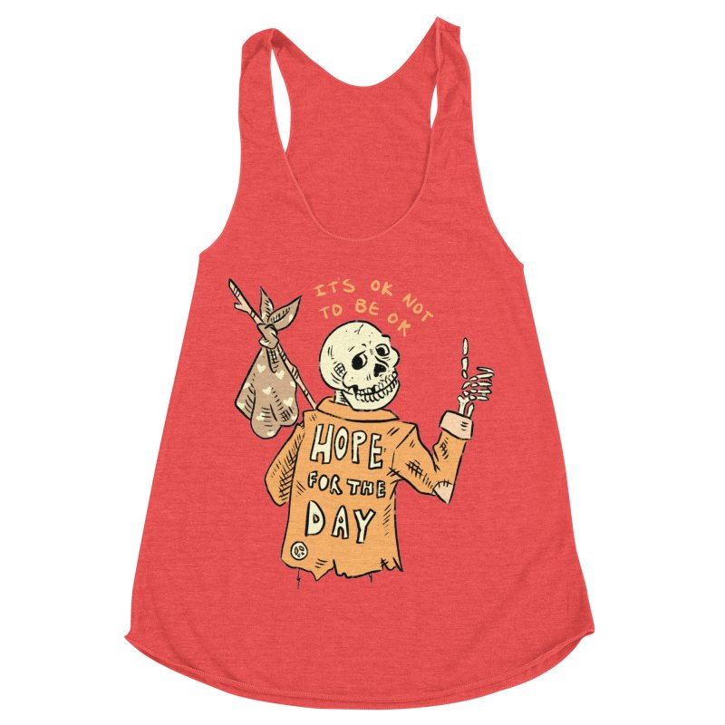 Karen Mooney - Down But Not Out Women's Tank by Hope for the Day Shop