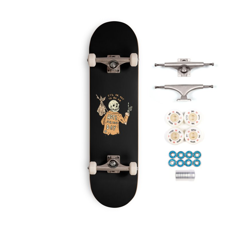Karen Mooney - Down But Not Out Accessories Complete - Premium Skateboard by Hope for the Day Shop