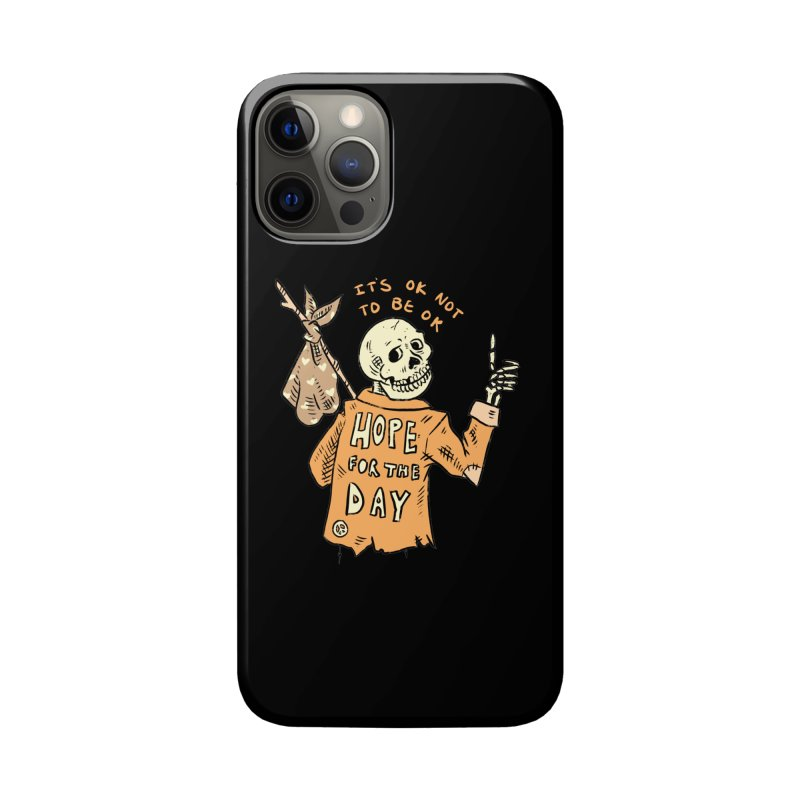 Karen Mooney - Down But Not Out Accessories Phone Case by Hope for the Day Shop