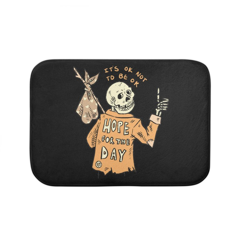Karen Mooney - Down But Not Out Home Bath Mat by Hope for the Day Shop