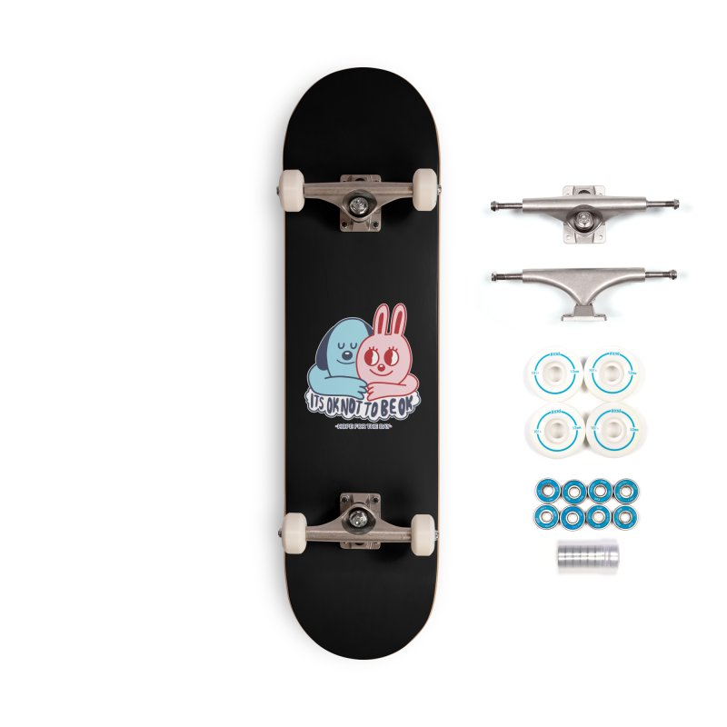 Blake Jones - Its OK Accessories Complete - Basic Skateboard by Hope for the Day Shop
