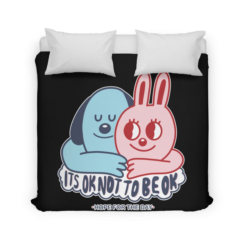 Blake Jones - Its OK Home Duvet by Hope for the Day Shop