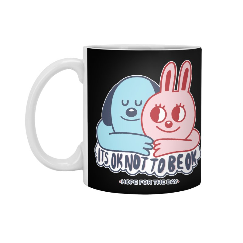 Blake Jones - Its OK Accessories Standard Mug by Hope for the Day Shop