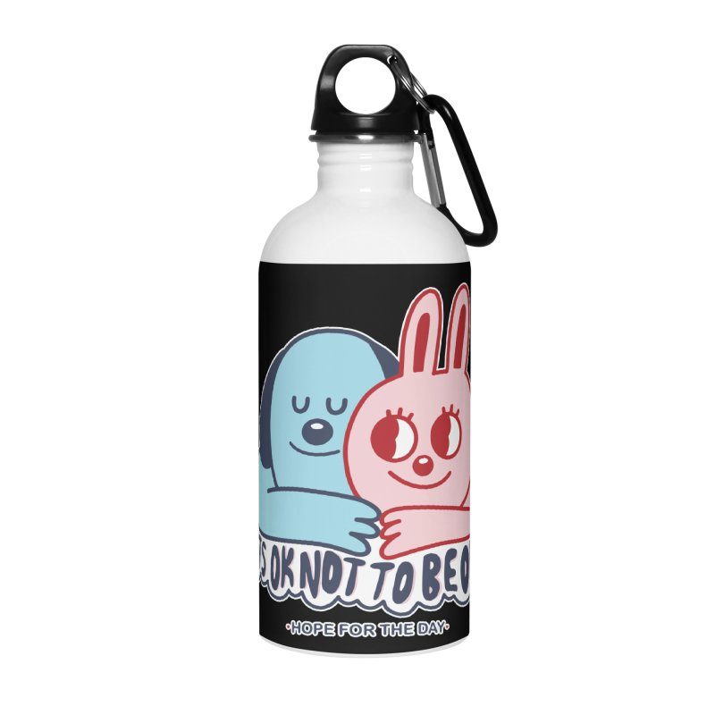 Blake Jones - Its OK Accessories Water Bottle by Hope for the Day Shop
