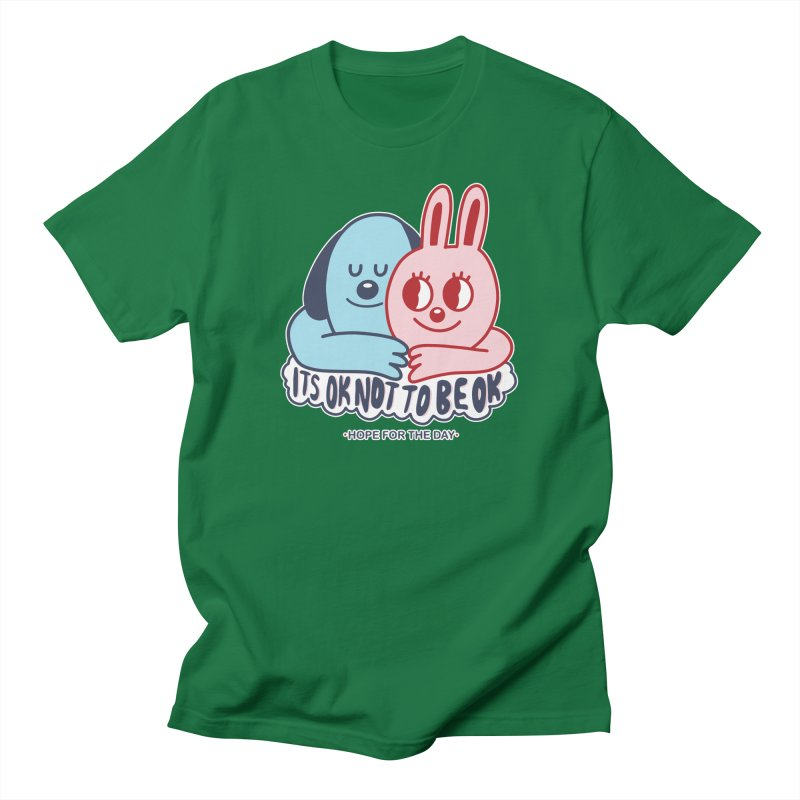 Blake Jones - Its OK Men's T-Shirt by Hope for the Day Shop