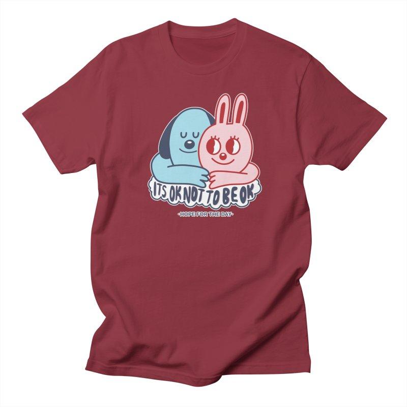 Blake Jones - Its OK Men's Regular T-Shirt by Hope for the Day Shop