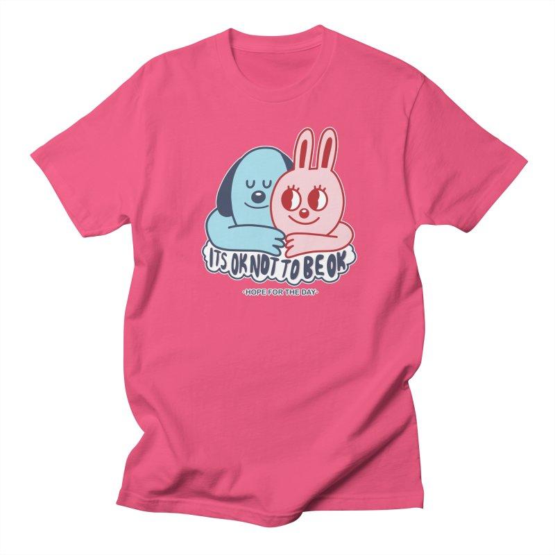 Blake Jones - Its OK Women's Regular Unisex T-Shirt by Hope for the Day Shop