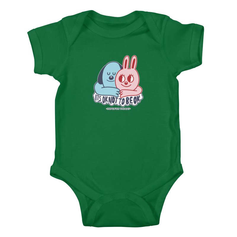 Blake Jones - Its OK Kids Baby Bodysuit by Hope for the Day Shop