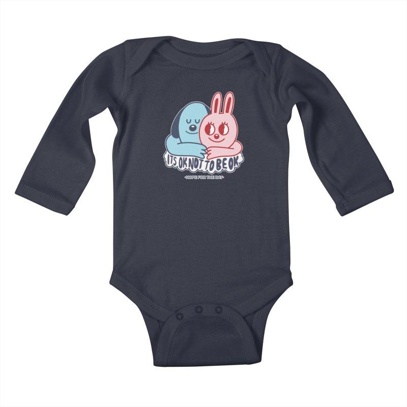 Blake Jones - Its OK Kids Baby Longsleeve Bodysuit by Hope for the Day Shop
