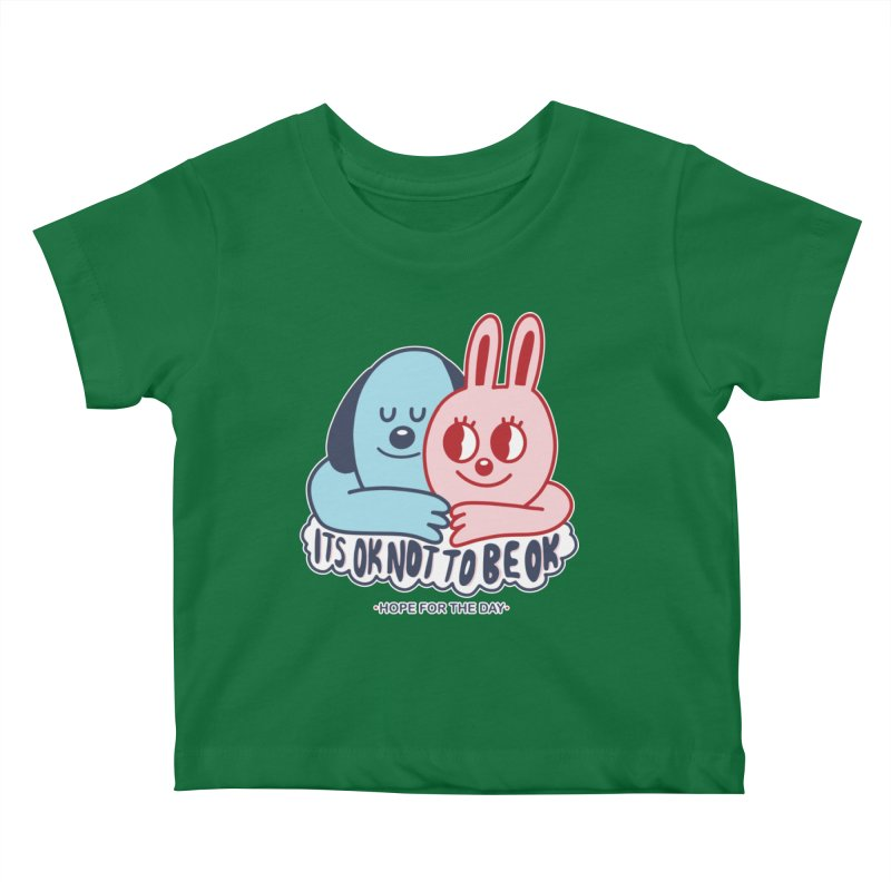 Blake Jones - Its OK Kids Baby T-Shirt by Hope for the Day Shop