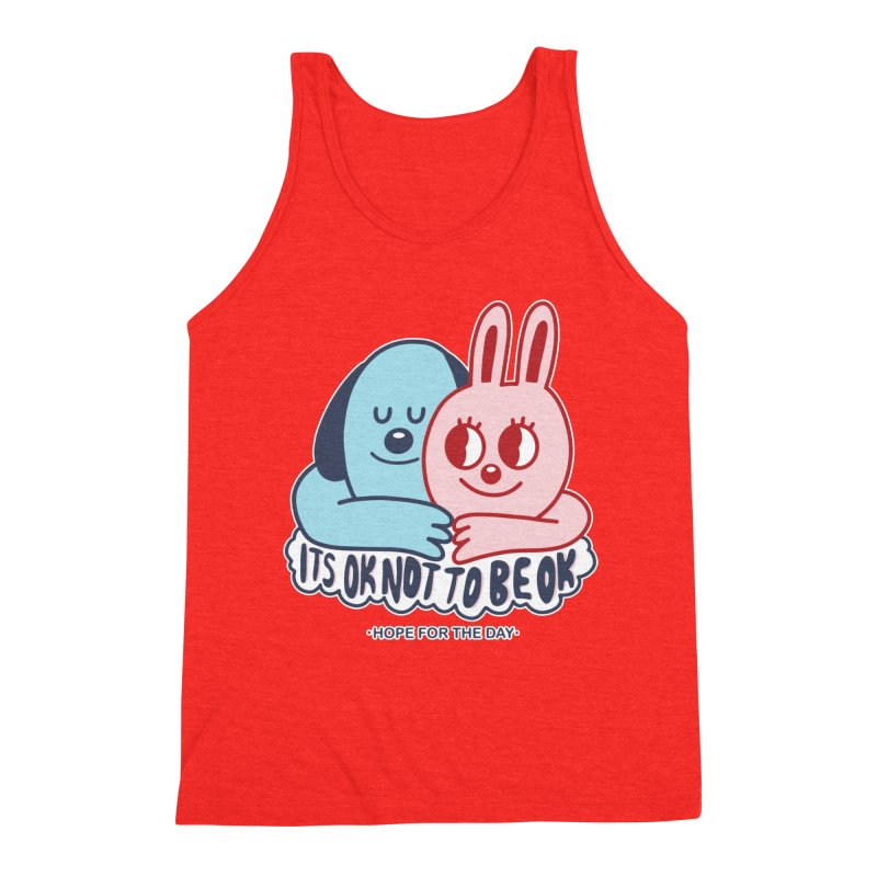 Blake Jones - Its OK Men's Tank by Hope for the Day Shop