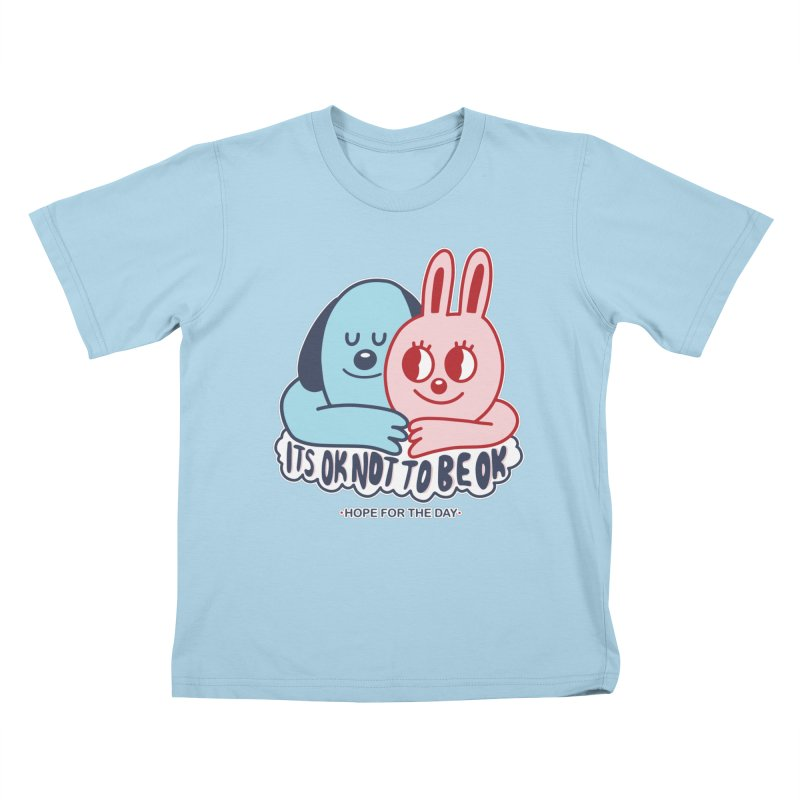 Blake Jones - Its OK Kids T-Shirt by Hope for the Day Shop