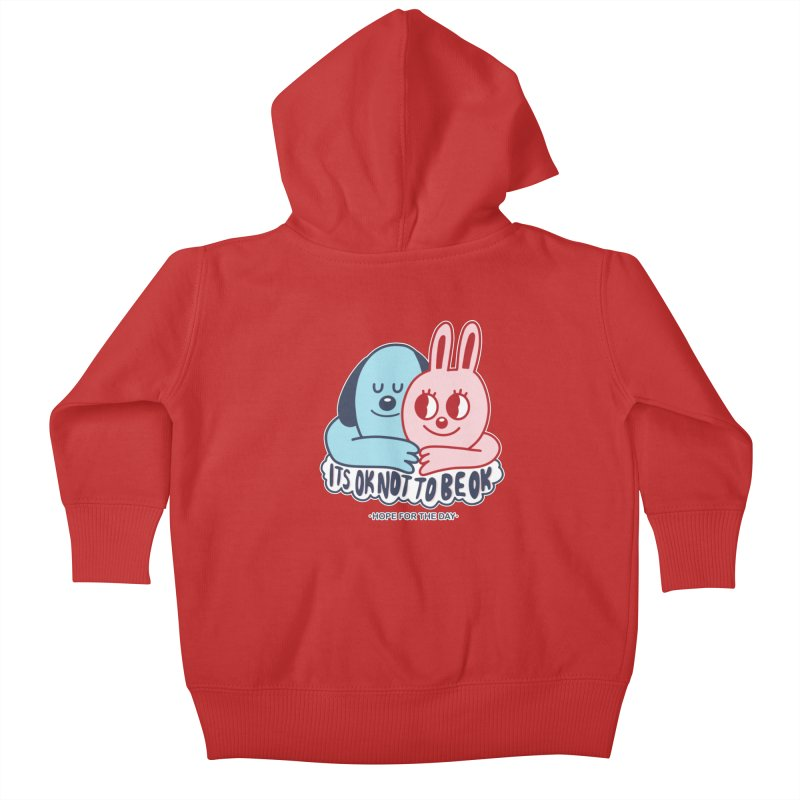 Blake Jones - Its OK Kids Baby Zip-Up Hoody by Hope for the Day Shop