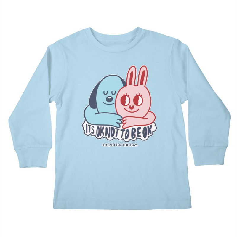 Blake Jones - Its OK Kids Longsleeve T-Shirt by Hope for the Day Shop