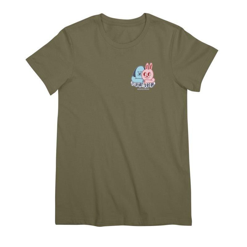 Blake Jones - Its OK Pocket Women's Premium T-Shirt by Hope for the Day Shop