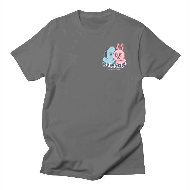 Blake Jones - Its OK Pocket Men's T-Shirt by Hope for the Day Shop