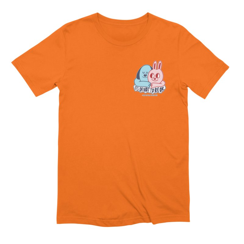 Blake Jones - Its OK Pocket Men's Extra Soft T-Shirt by Hope for the Day Shop
