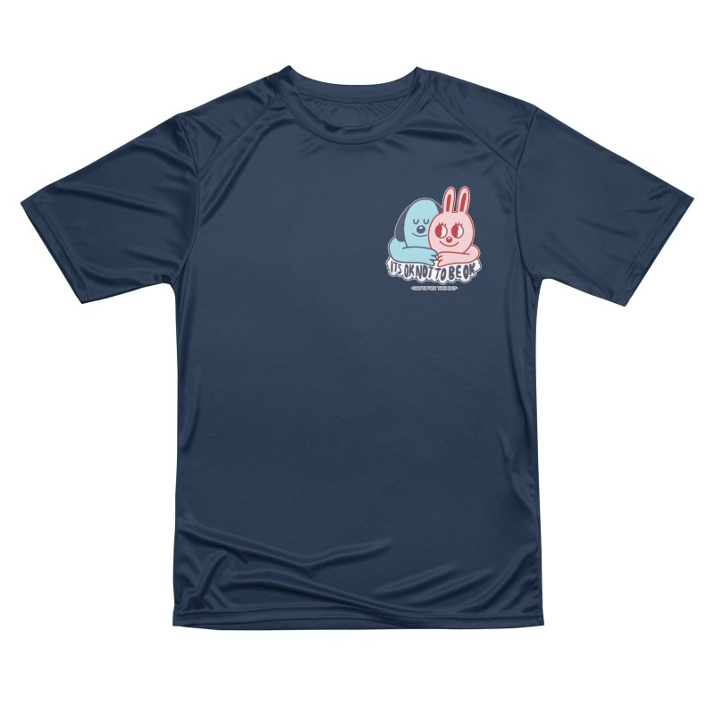 Blake Jones - Its OK Pocket Men's Performance T-Shirt by Hope for the Day Shop