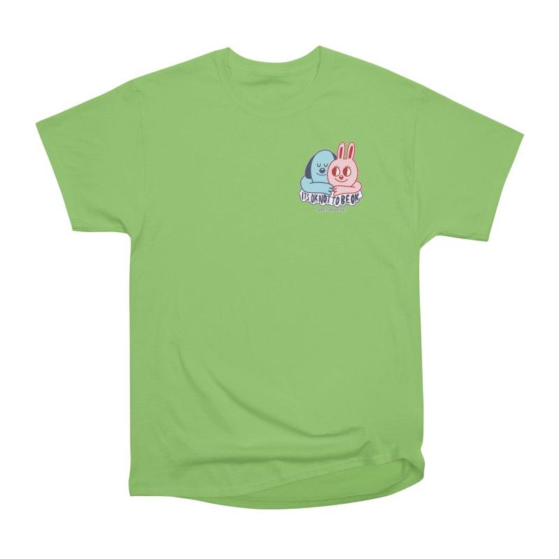 Blake Jones - Its OK Pocket Men's Heavyweight T-Shirt by Hope for the Day Shop