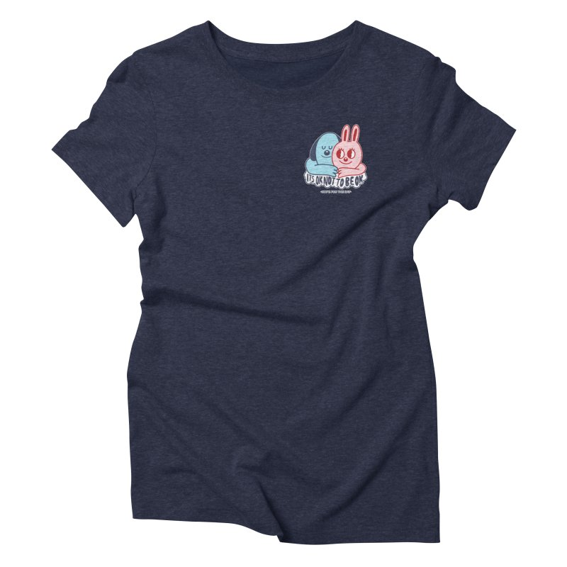 Blake Jones - Its OK Pocket Women's Triblend T-Shirt by Hope for the Day Shop