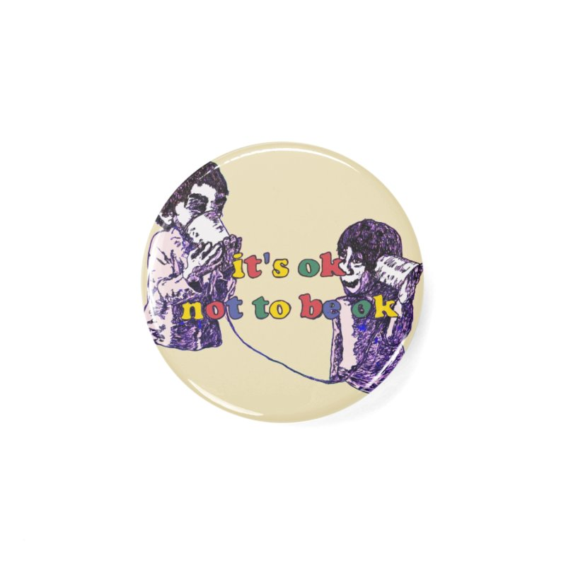 Zacq Rosen - SpreadTheWord! Accessories Button by Hope for the Day Shop