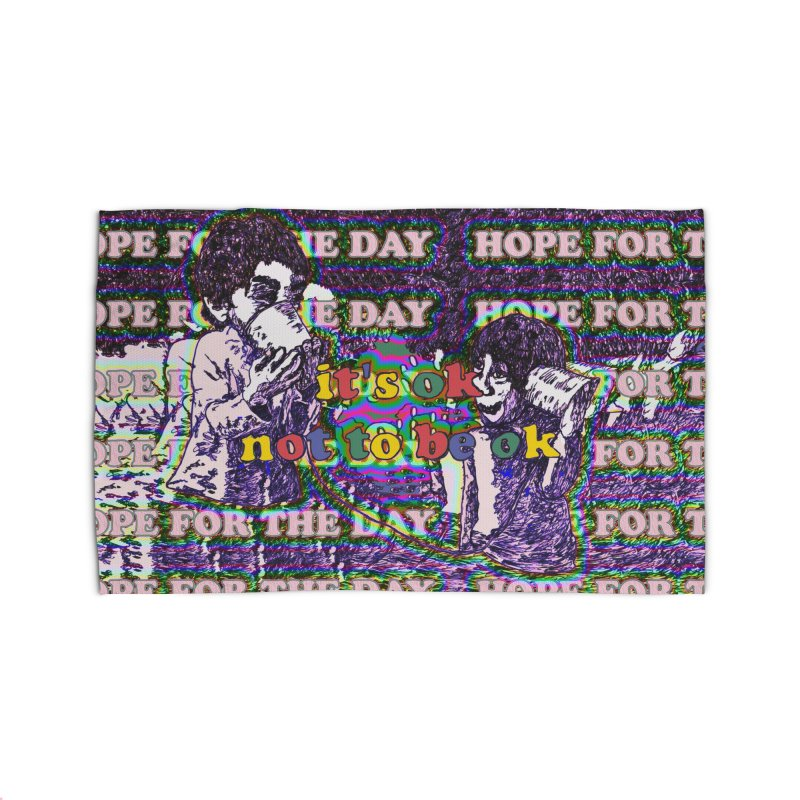 Zacq Rosen - SpreadTheWord! Home Rug by Hope for the Day Shop