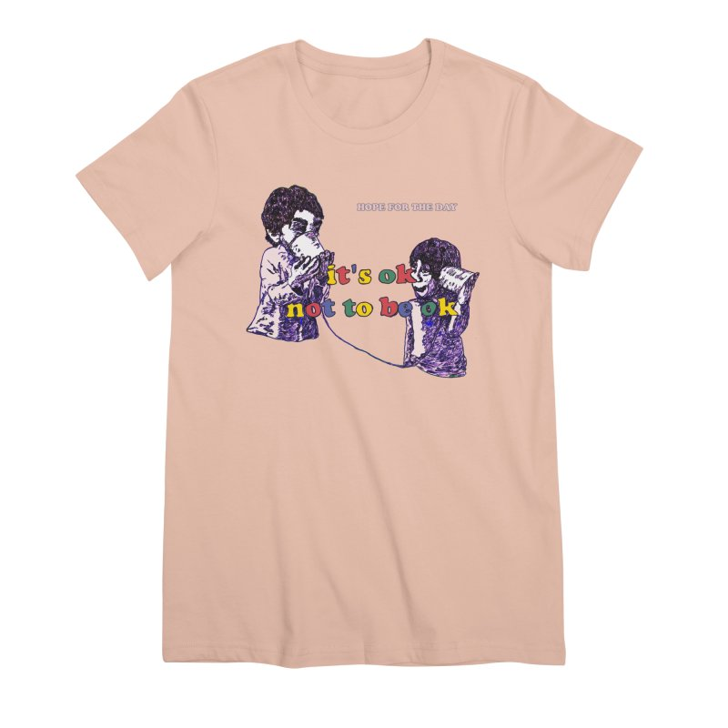 Zacq Rosen - SpreadTheWord! Women's Premium T-Shirt by Hope for the Day Shop