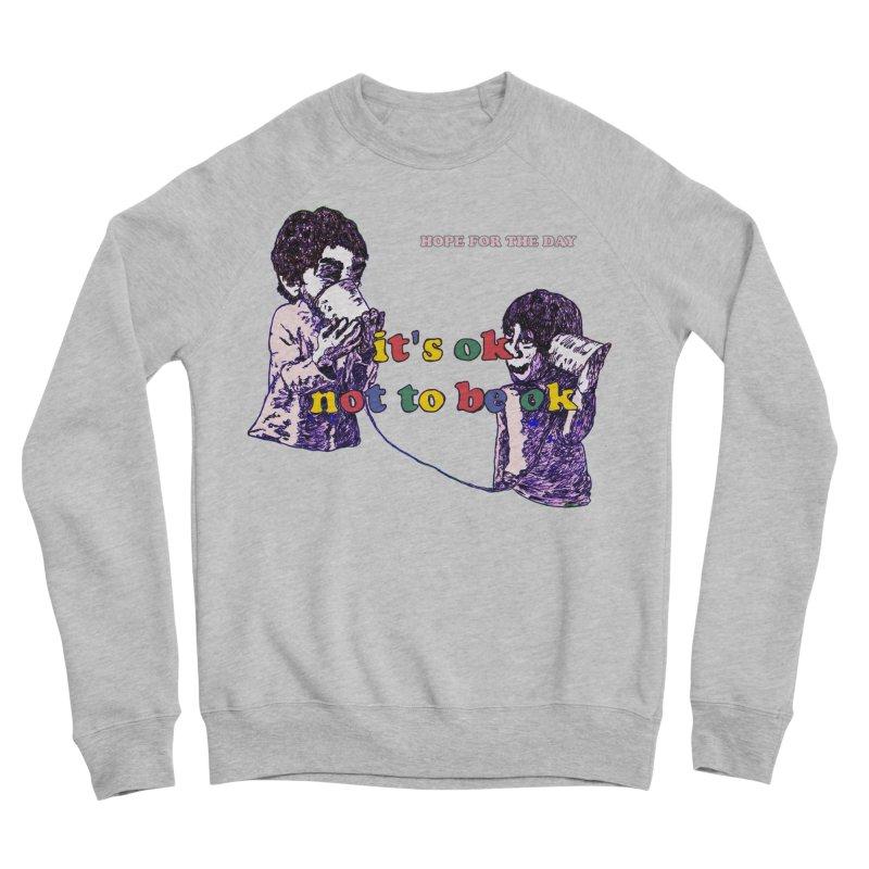 Zacq Rosen - SpreadTheWord! Men's Sponge Fleece Sweatshirt by Hope for the Day Shop