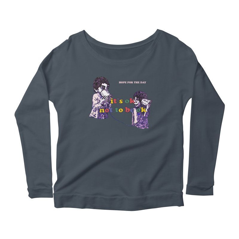 Zacq Rosen - SpreadTheWord! Women's Scoop Neck Longsleeve T-Shirt by Hope for the Day Shop