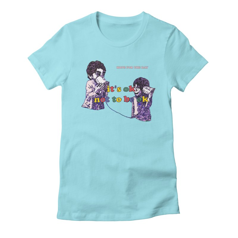 Zacq Rosen - SpreadTheWord! Women's Fitted T-Shirt by Hope for the Day Shop