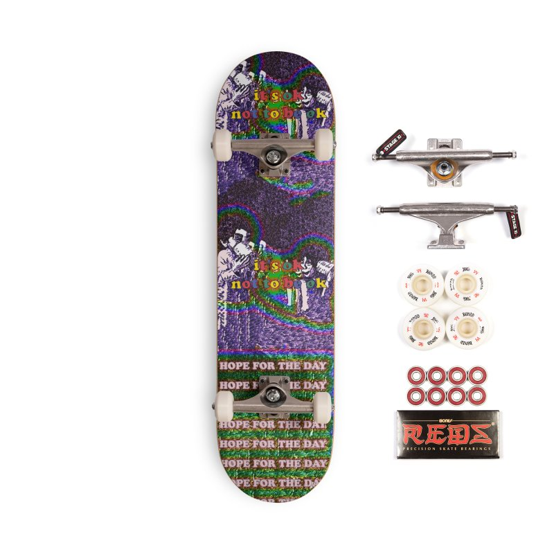 Zacq Rosen - SpreadTheWord! Accessories Complete - Pro Skateboard by Hope for the Day Shop
