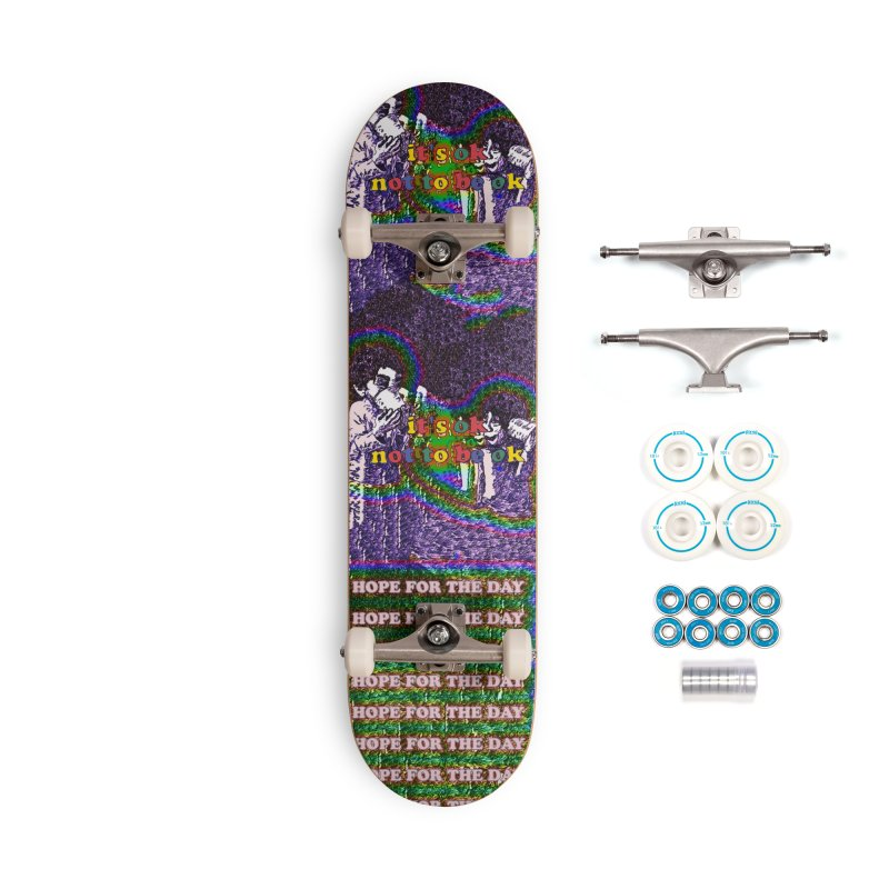 Zacq Rosen - SpreadTheWord! Accessories Complete - Basic Skateboard by Hope for the Day Shop