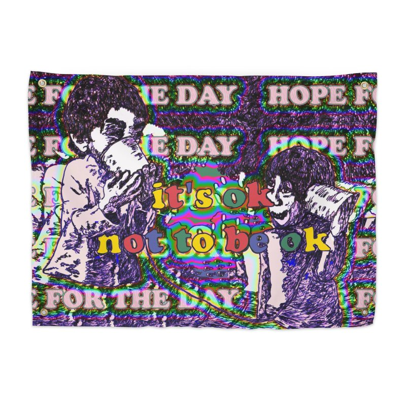 Zacq Rosen - SpreadTheWord! Home Tapestry by Hope for the Day Shop