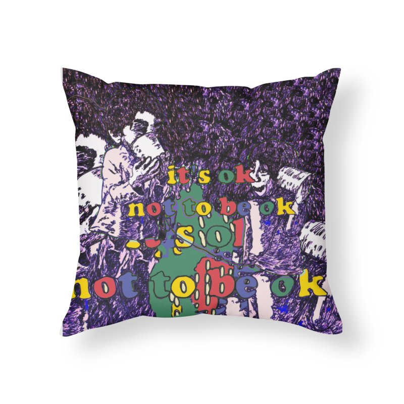Zacq Rosen - SpreadTheWord! Home Throw Pillow by Hope for the Day Shop
